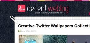 Decent Weblog image