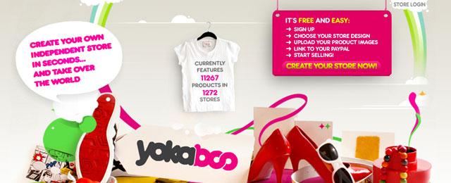 Yokaboo header design