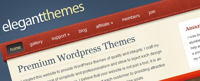 Clean WordPress Themes club website design