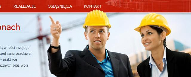 Clean, corporate website design