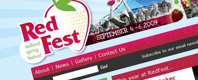 Gorgeous retro website design