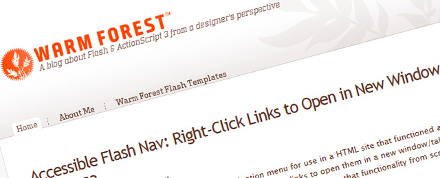Clean, pleasant tutorial blog design