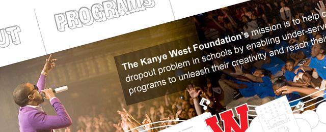 Redesigned Kanye West Foundation design