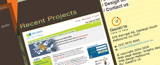 Gazal/is Web Design