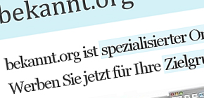 Bekannt.org image