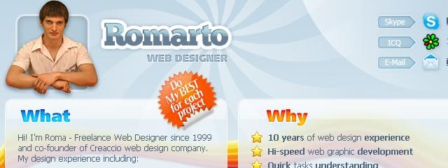 Romarto Web Designer
