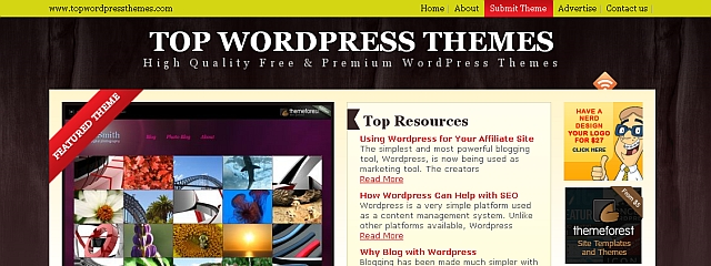 Top WordPress Themes