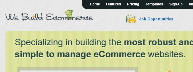 We Build Ecommerce