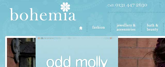 bohemia website design