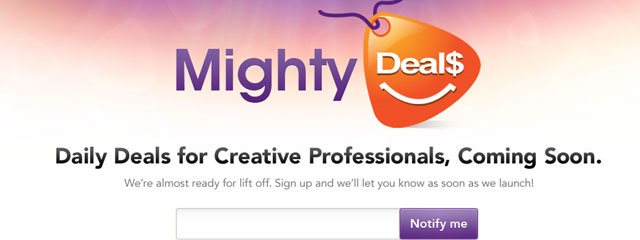 Mighty Deals web 2.0