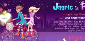 Ruhani weds Jagrit image