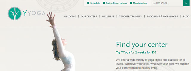 yyoga website