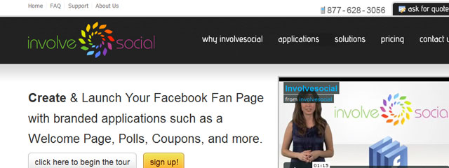 Involve social facebook