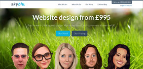 Skyblu Web Design image