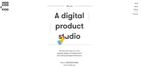 HOO KOO E KOO — A digital product studio image